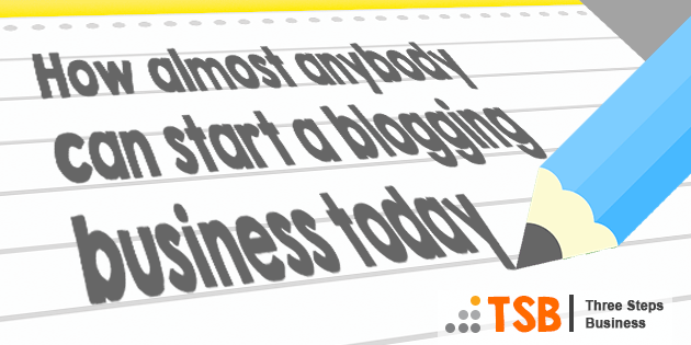 TSB05 – How to Start a Blogging Business