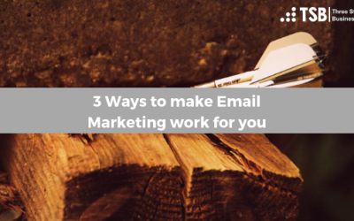 3 Ways to make Email Marketing work for you