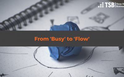 How to move from 'overwhelmed' to 'flow'
